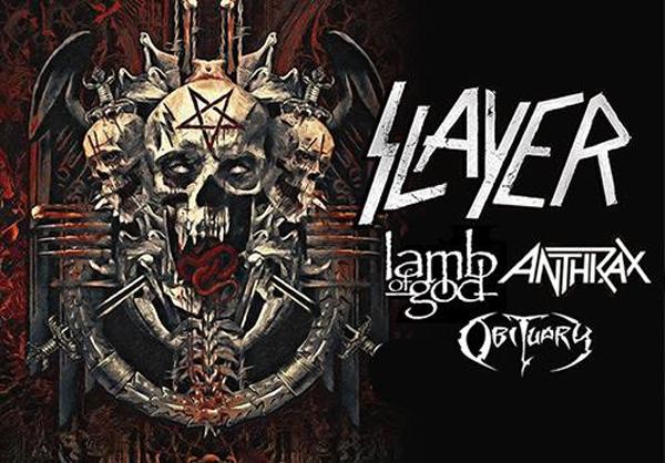 Slayer anuncian fecha en Madrid y Barcelona antes de su separación