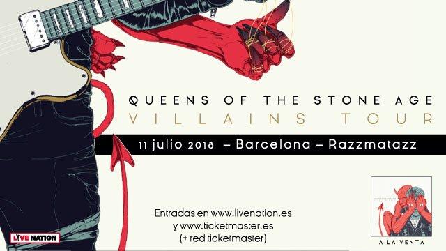 Queens of the stone age anuncian fecha en Barcelona