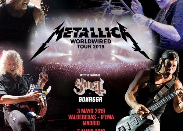 Metallica en Madrid y Barcelona