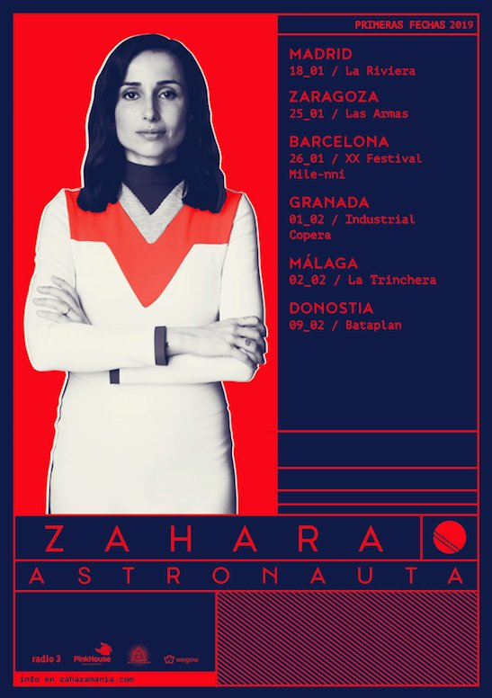 "Primeras fechas para la gira ""Astronauta"" de Zahara"