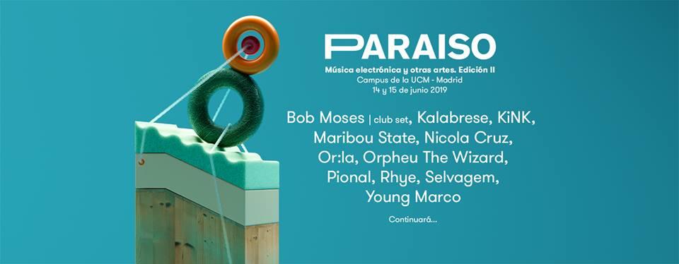 Primeros nombres del Paraíso Festival 2019