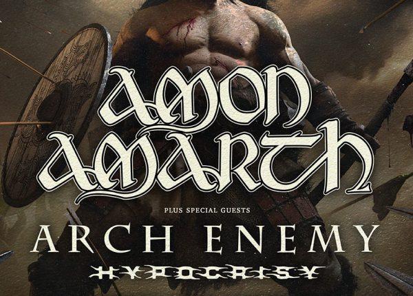 Conciertos de Amon Amarth acompañados por Arch Enemy e Hipocrisy